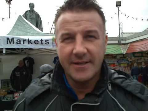 Steve Walsh (footballer) Steve Walsh at Leicester Market YouTube