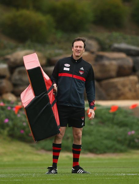 Steven Alessio Steven Alessio Photos Photos Essendon Bombers Training Session