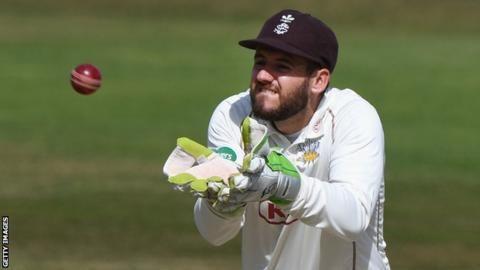 Steven Davies Wicketkeeperbatsman to leave Surrey BBC Sport