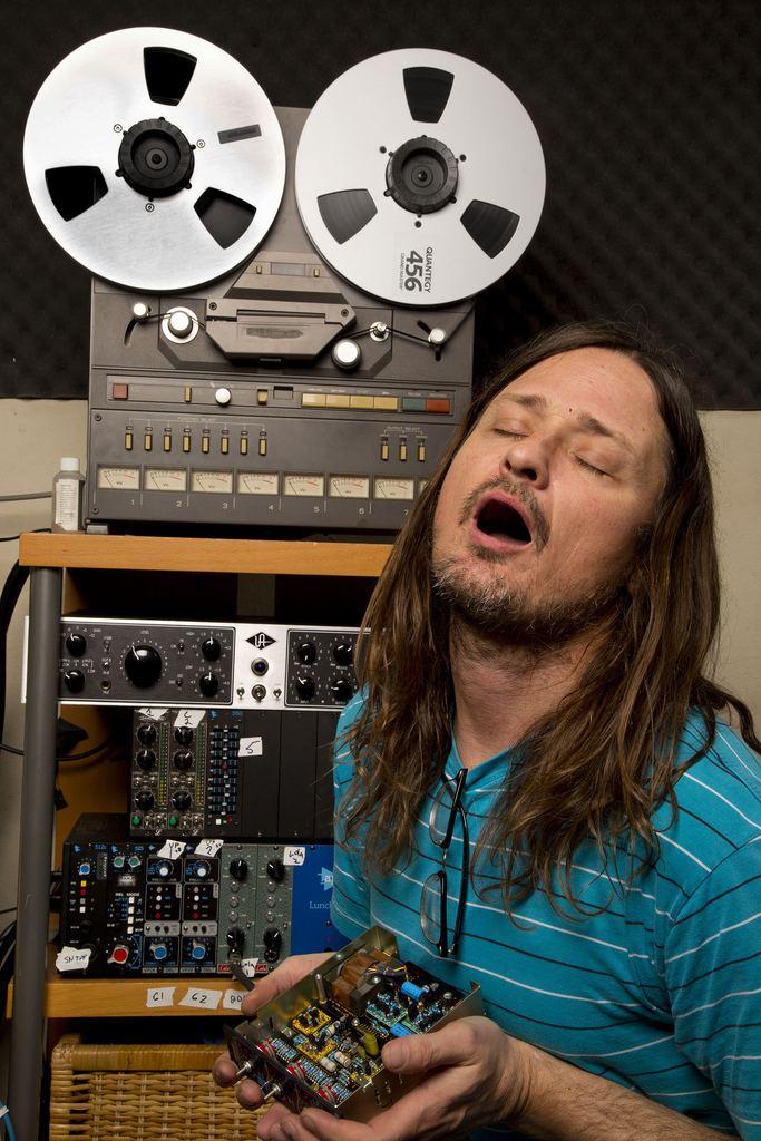 Steven Shane McDonald OFF bassist Steven Shane McDonald during a recording sess Flickr
