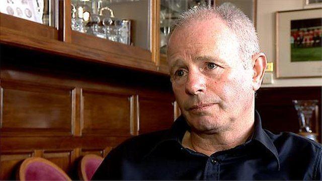 Stewart Milne BBC News Stewart Milne on boardroom changes at Aberdeen