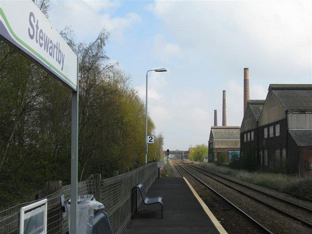 Stewartby railway station