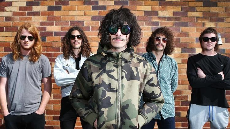 Sticky Fingers (band) Sydney band Sticky Fingers accused of 39disgusting39 behaviour at