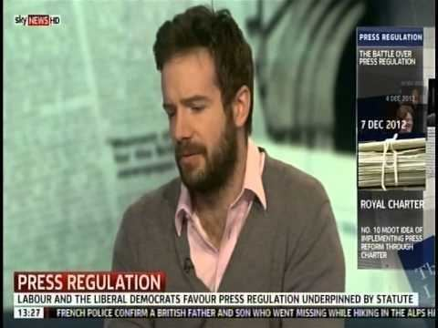 Stig Abell Sky News Interview re Leveson YouTube