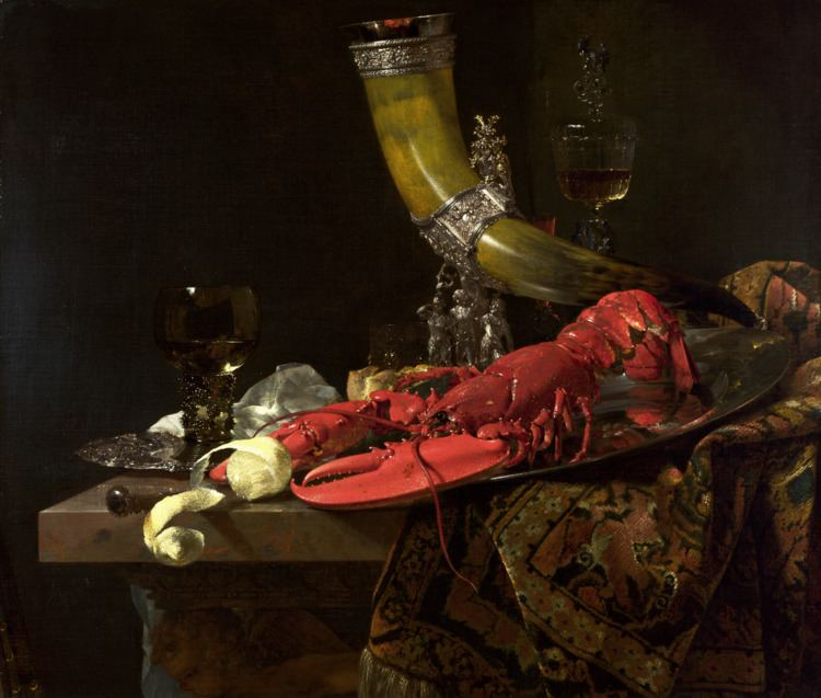 Still Life with Lobster, Drinking Horn and Glasses httpsuploadwikimediaorgwikipediacommonsthu