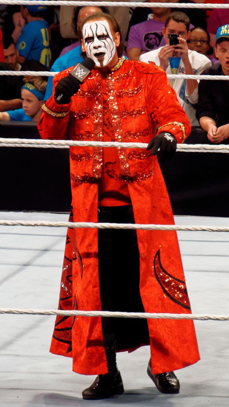 Sting (wrestler) Sting wrestler Wikipedia the free encyclopedia