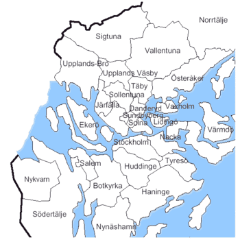 Stockholm County Wikipedia