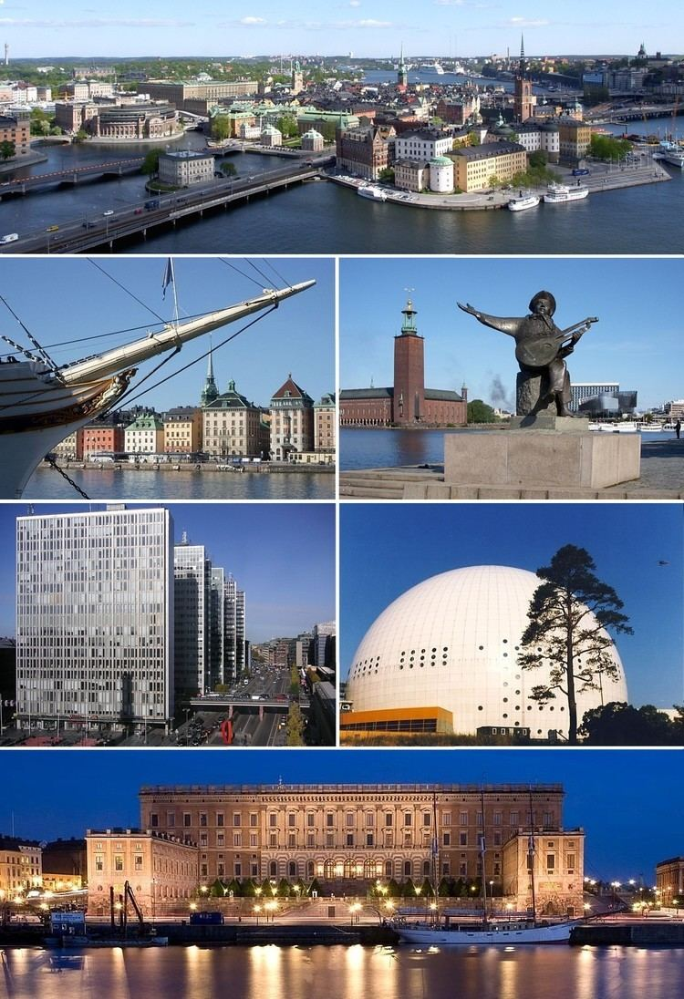 Stockholm County in the past, History of Stockholm County