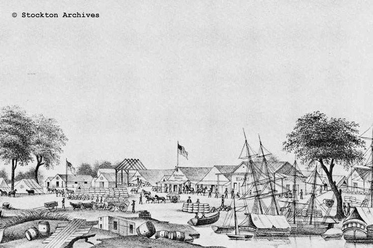 Stockton, California in the past, History of Stockton, California
