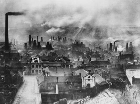Stoke on Trent in the past, History of Stoke on Trent