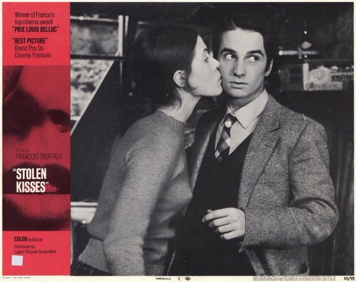 Stolen Kisses Moon In The Gutter Advertising Truffaut in the States Stolen