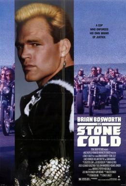 Stone Cold (1991 film) movie poster