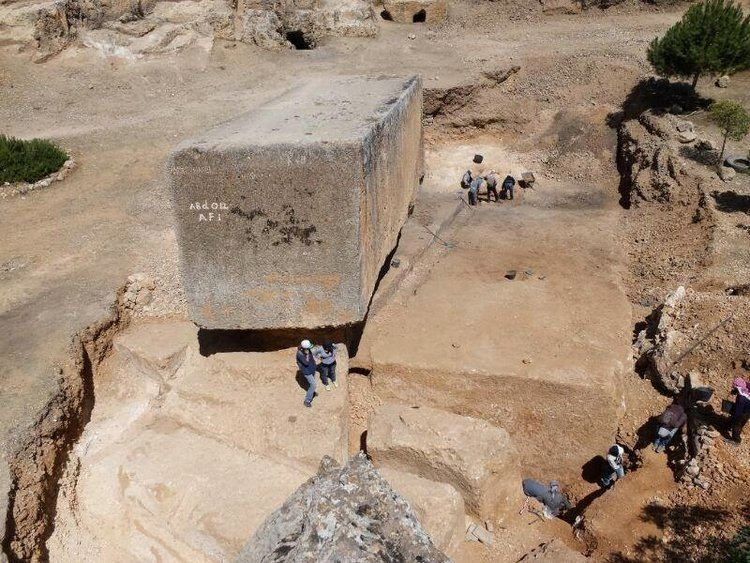 Stone of the Pregnant Woman Largest Prehistoric Monolith 39Stone Of The Pregnant Woman39 Found In