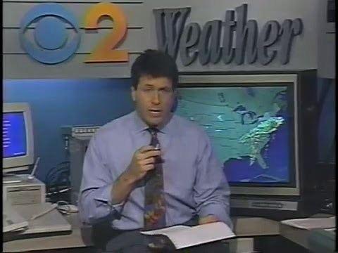 Storm Field Craig Allen Storm Field Storm Coverage CBS TV NYC 1993 YouTube