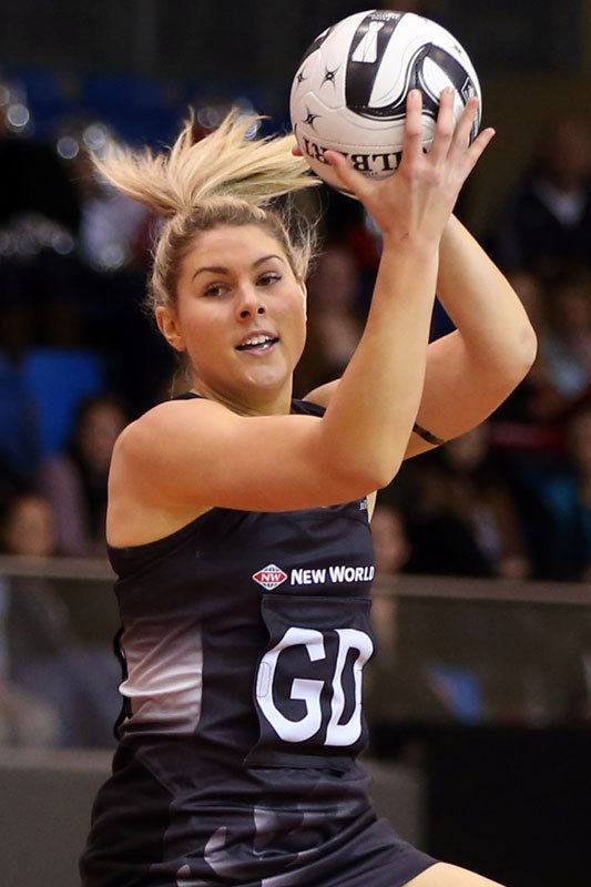 Storm Purvis Players Silver Ferns Netball