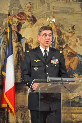 Stéphane Abrial Conference934 Lecture by General Abrial on NATO Consulat gnral