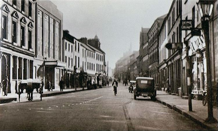 Strabane in the past, History of Strabane