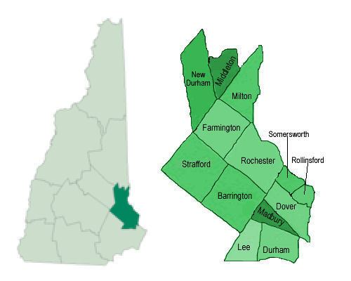 Strafford County, New Hampshire wikiradioreferencecomimages77cStraffordNHmapjpg