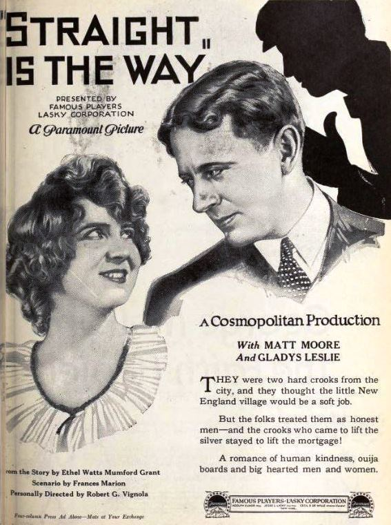 Straight Is the Way (1921 film) FileStraight Is the Way 1921 2jpg Wikimedia Commons