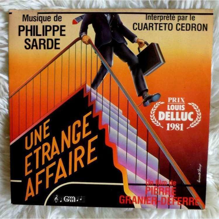 Strange Affair (film) Une etrange affaire de Philippe Sarde Cuarteto Cedron SP chez