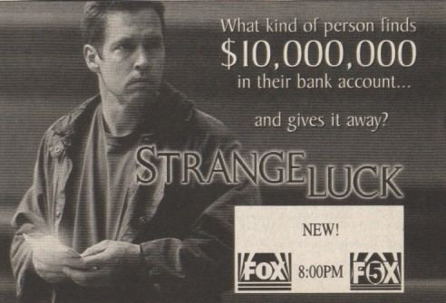 Strange Luck Strange Luck TV series 1995