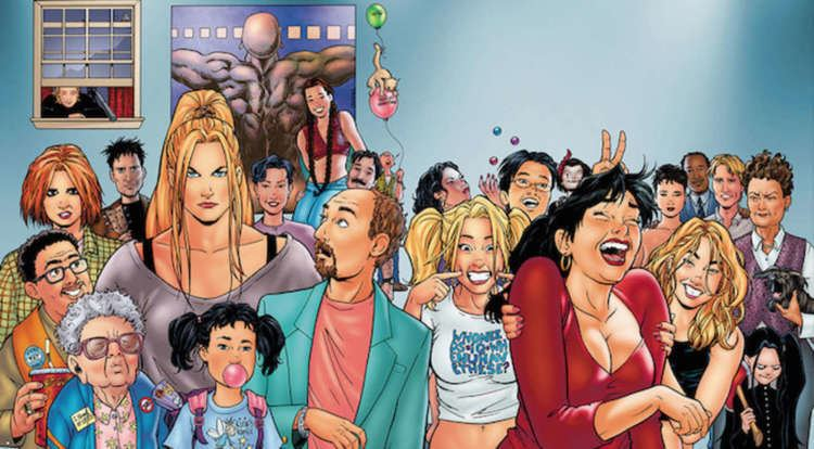Strangers in Paradise Terry Moore To Bring Back Strangers in Paradise in 2018