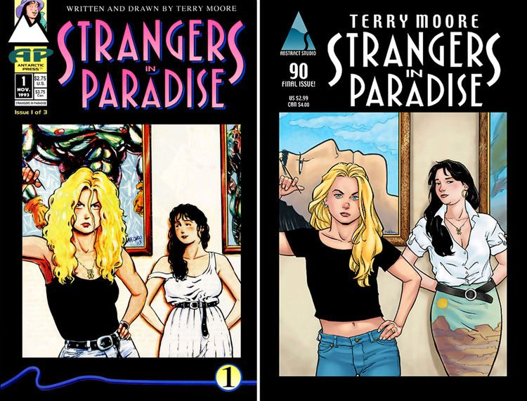 Strangers in Paradise Interview Terry Moore