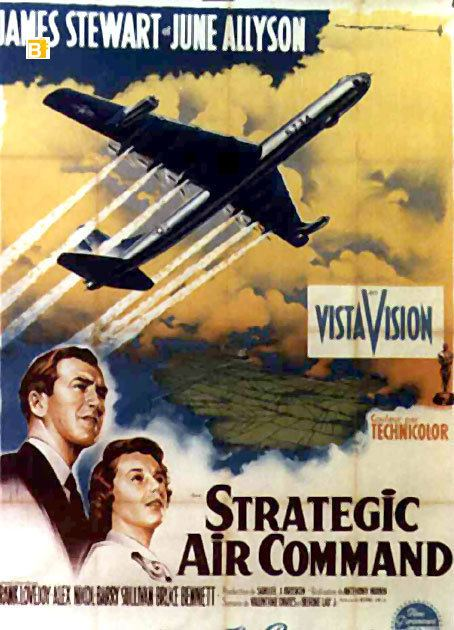 Strategic Air Command (film) ACORAZADOS DEL AIRE MOVIE POSTER STRATEGIC AIR COMMAND MOVIE POSTER