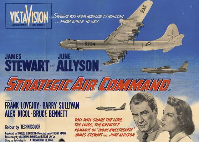 Strategic Air Command (film) Strategic Air Command the 1955 Paramount Pictures motion picture