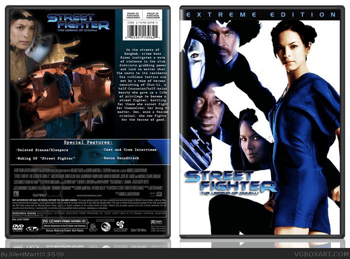 Street Fighter: The Legend of Chun-Li Street Fighter The Legend Of Chun Li Movies Box Art Cover by