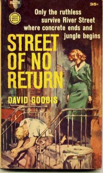 Street of No Return Samuel Fullers adaptation of the David Goodis novel STREET OF NO