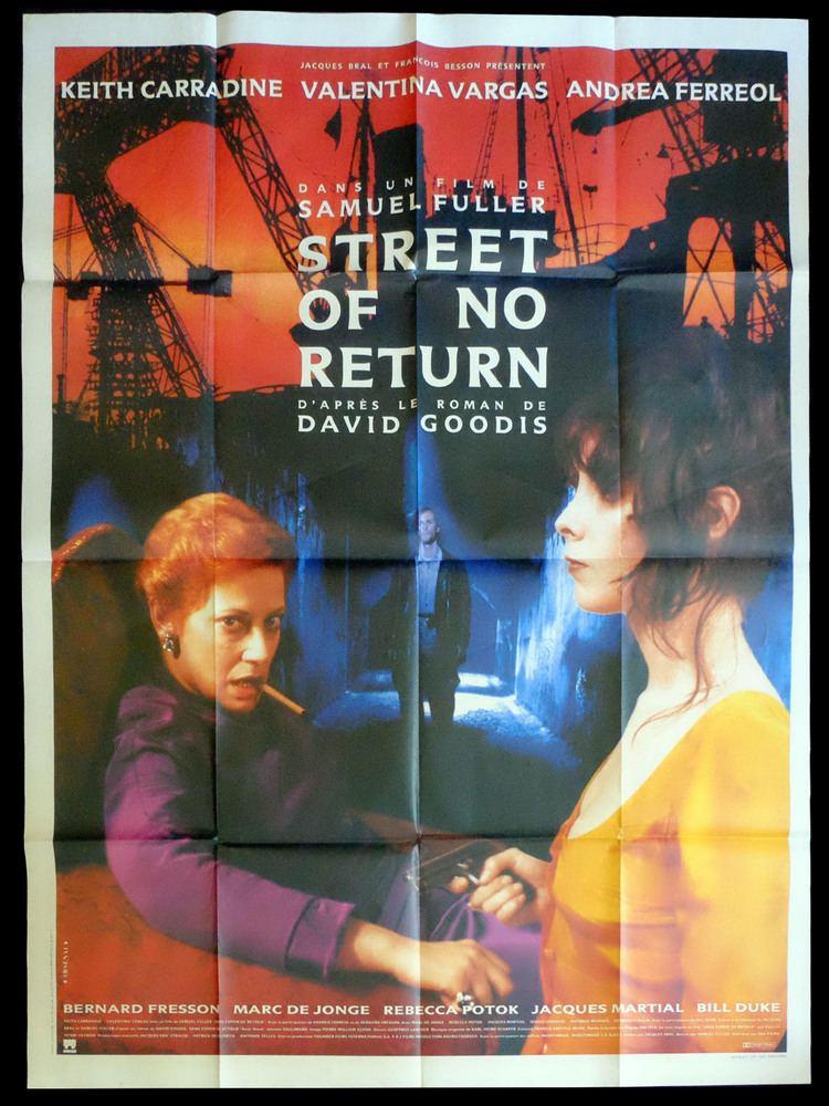 Street of No Return STREET OF NO RETURN French Movie Poster 47x63 1989 Samuel Fuller