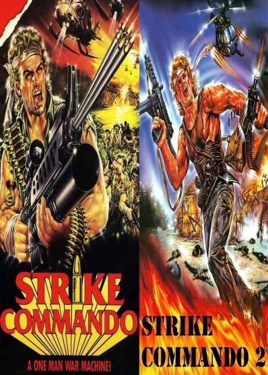 Strike Commando Strike Commando 1 2 DVD 80s Italian Namsploitation for sale