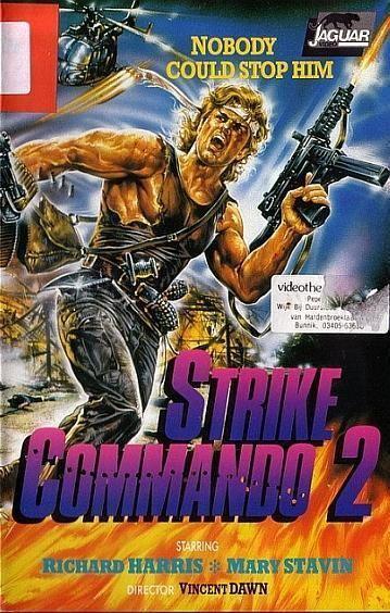 Strike Commando Strike Commando 2 1988 Review The Action Elite