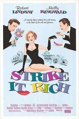 Strike It Rich (1990 film) movie poster