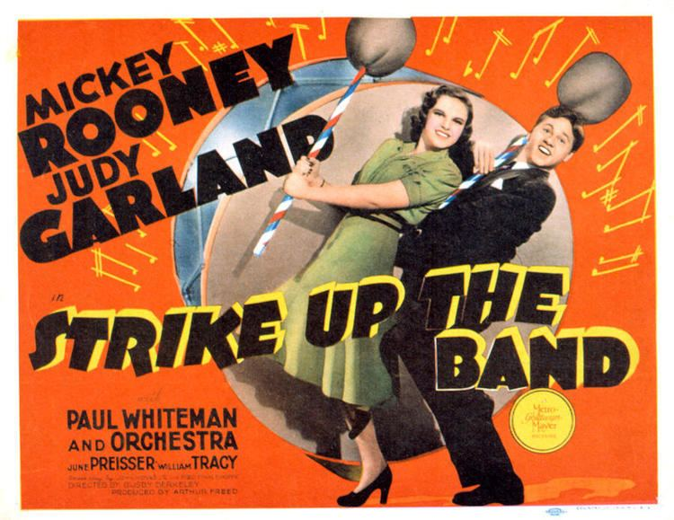 Strike Up the Band (film) Strike Up the Band 1940 Journeys in Classic Film