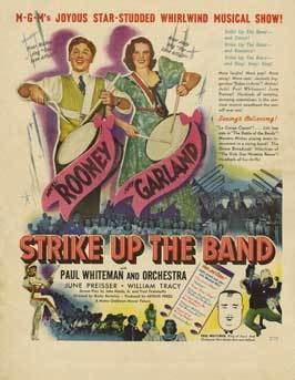 Strike Up the Band (film) Strike Up the Band Movie Posters From Movie Poster Shop