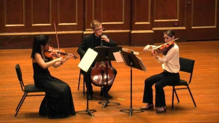 String trio Schoenberg String Trio by Trio Battuto YouTube