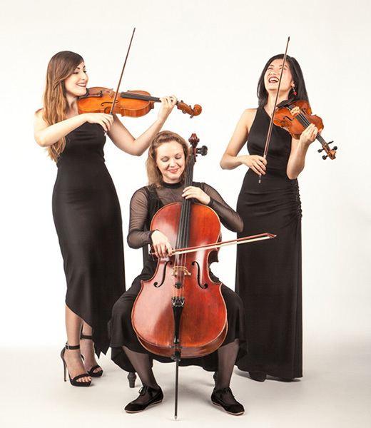 String trio The Giardino String Quartet Fantasia Music