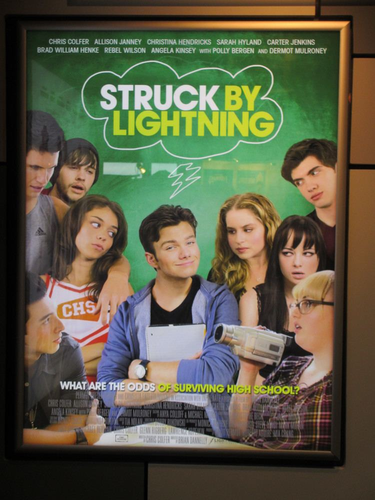 Struck by Lightning (2012 film) STRUCK BY LIGHTNING and WHITE HOUSE TAKEN Posters from Cannes Collider