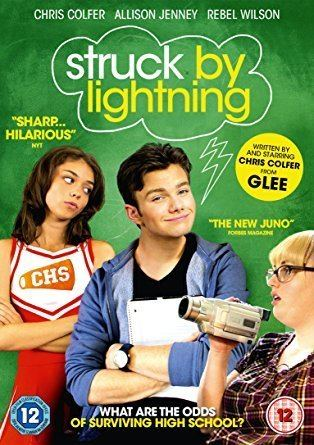 Struck by Lightning (2012 film) Struck By Lightning DVD Amazoncouk Chris Colfer Rebel Wilson