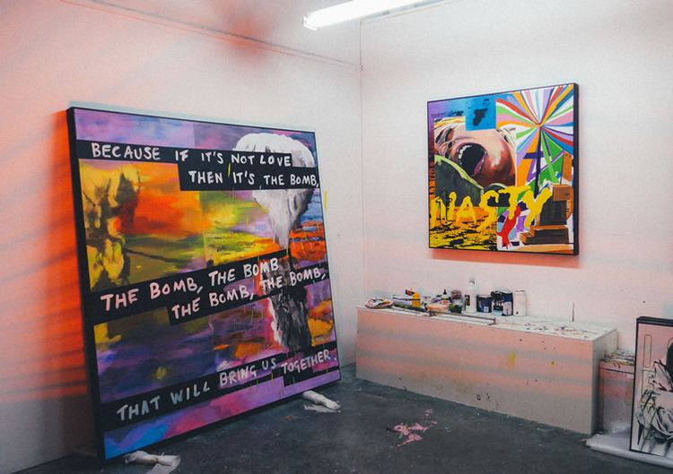 Stuart Semple Semple Anxiety Generation at Delahunty London