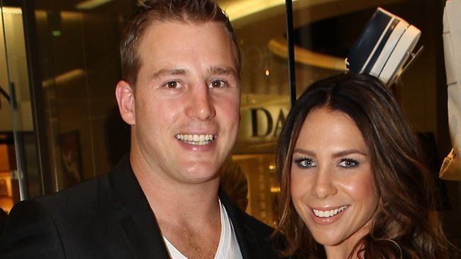 Stuart Webb Actress Kate Ritchie39s husband former Sydney Roosters NRL