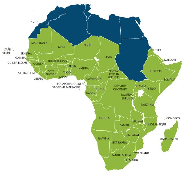 Sub-Saharan Africa Is the term quotSub Saharan Africaquot really needed