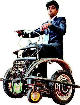 Subhav Sinha MITRA PERSONAL MOVER SUBHAV SINHA NEW DELHI A batteryoperated