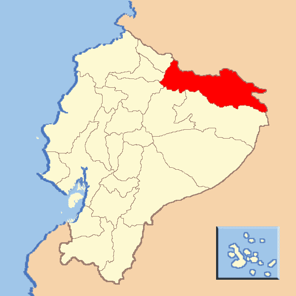 Sucumbios Province in the past, History of Sucumbios Province