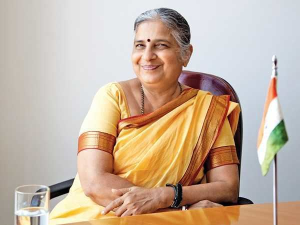 Sudha Murthy I watched 365 films in one yearquot Sudha Murthy