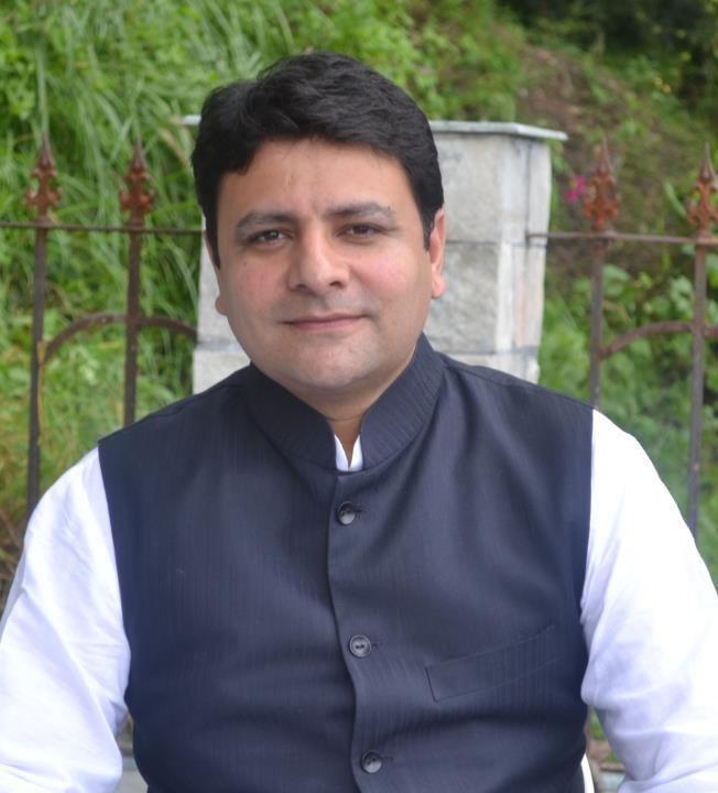 Sudhir Sharma Congress shifts Sudhir Sharma to Jwalamukhi