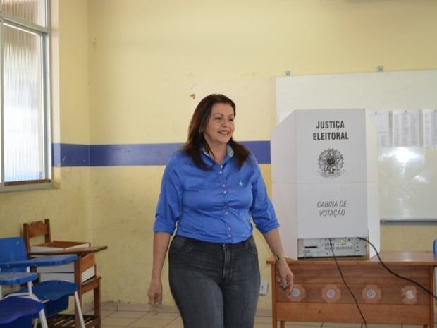 Suely Campos G1 Candidata ao governo de RR Suely Campos do PP vota em Boa