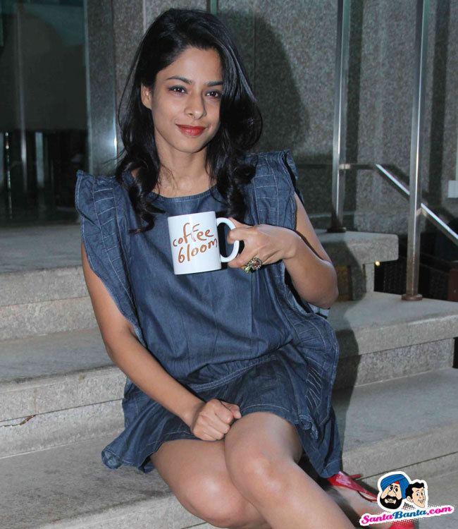 Sugandha Garg Coffee Bloom Film Press Meet Sugandha Garg and Arjun